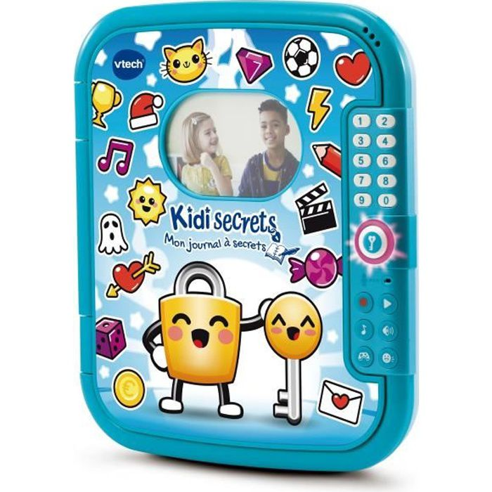 Vtech - Kidi Secrets - Mon journal à secrets (bleu) - 6 - 12 ans