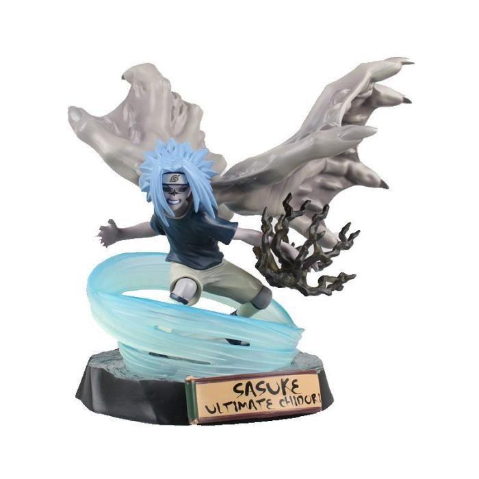 Uzumaki Naruto Sasuke Uchiha Kakashi Hatake Mod/èle Cadeau Cadeau Cr/éatif 19 Cm Figurine Couleur: B Gaara