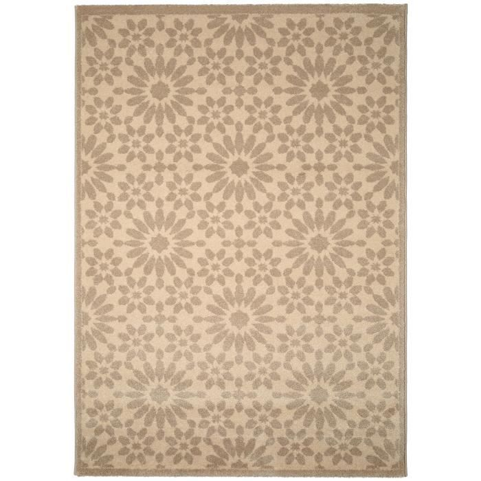 benuta tapis gazania taupe 300x400 cm achat vente tapis cdiscount. Black Bedroom Furniture Sets. Home Design Ideas