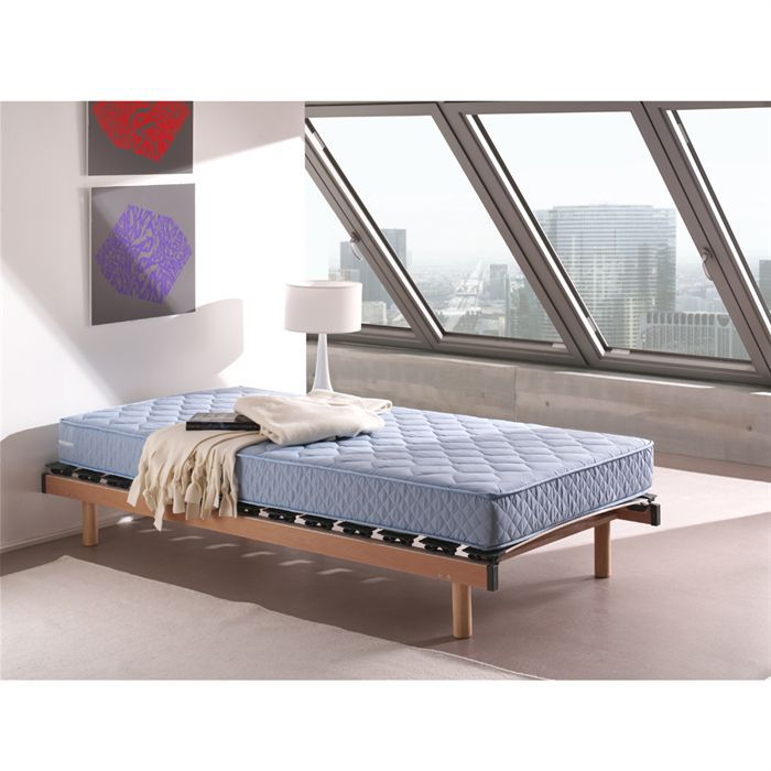 matelas 70x140 mousse bleu ouessant achat vente. Black Bedroom Furniture Sets. Home Design Ideas