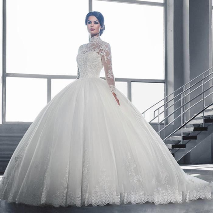 Robe De Mariage Princesse Robe De Bal Blanche