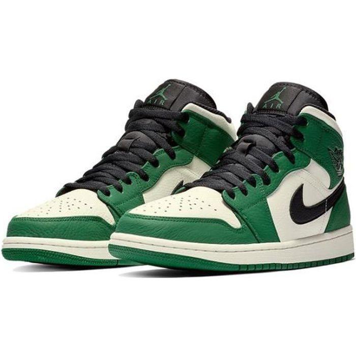 Basket Nike Air Jordan 1 Mid (GS) Chaussure de Spo