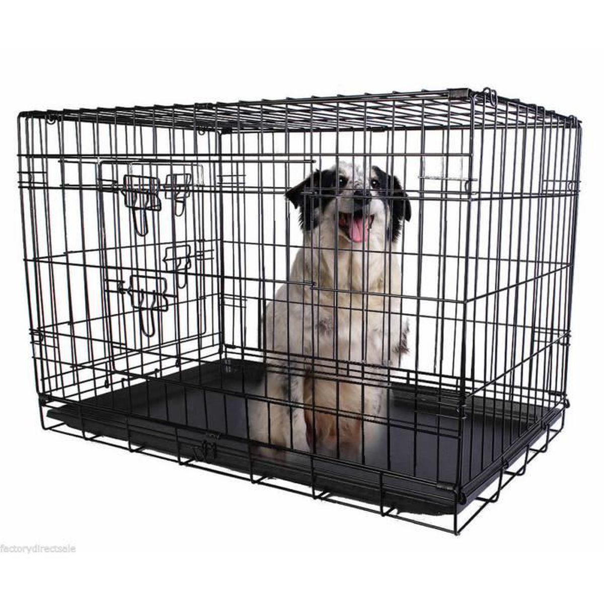cage transport chien pliable achat vente cage transport chien pliable pas cher les soldes. Black Bedroom Furniture Sets. Home Design Ideas