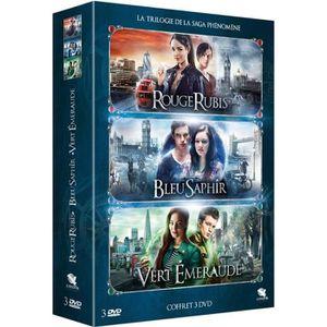 DVD FILM DVD Coffret Rouge rubis, Bleu saphir, Vert émeraud