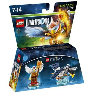 FIGURINE DE JEU Figurine LEGO Dimensions - Eris - LEGO Chima