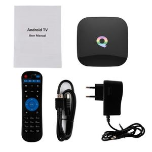 BOX MULTIMEDIA Q Box Android 4K TV BOX Amlogic Android 5.1 WiFi B