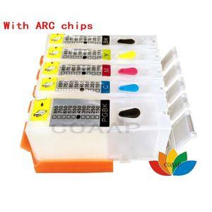 CARTOUCHE IMPRIMANTE 5 PGI 550 CLI 551 Cartouche vide rechargeable + Je