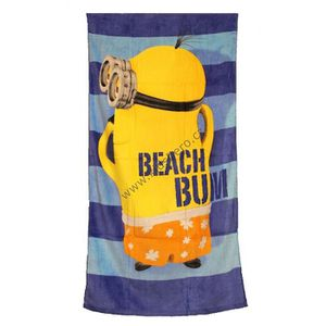 serviette de bain minion achat vente serviette de bain minion pas cher cdiscount. Black Bedroom Furniture Sets. Home Design Ideas