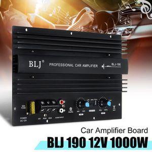 AMPLIFICATEUR AUTO CZ Panneau Amplificateur Mono 12V 1000W De Voiture