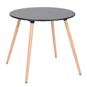 TABLE À MANGER SEULE Table à Manger Ronde de 2 à 4 Personnes Scandinave