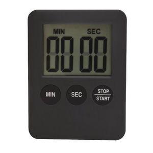 Minuteur de 60 Minutes Timer M/écanique et Magn/étique Compte /à Rebours M/écanique Minuteur de Cuisine Timer de Cuisine en Acier ZoneYan Minuterie M/écanique de Cuisine Timer Cuisine Aimant/é