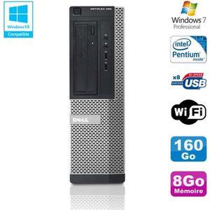 UNITÉ CENTRALE  PC DELL Optiplex 390 DT G630 2.7Ghz 8Go 160Go Grav