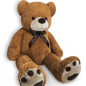 PELUCHE Grand nounours Ours en peluche géant XL brun Teddy