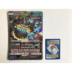 CARTE A COLLECTIONNER Carte Pokemon ENGLOUTYRAN GX 63a/111 - Format Jumb