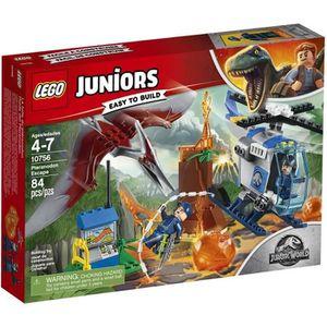 ASSEMBLAGE CONSTRUCTION LEGO® Juniors Jurassic World™ 10756 La Fuite Du Pt