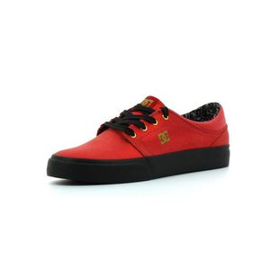 DC Shoes Trase X TR Red / black - Chaussures Baskets basses Femme