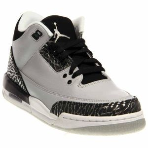 new product 6e68b ee9c1 BASKET Jordan Nike Air 3 enfants Retro Bg chaussure de ba