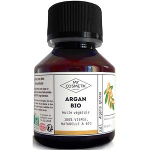 HYDRATANT CORPS Huile végétale d'Argan BIO - MyCosmetik - 125 ml