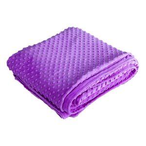 HOUSSE DE COUETTE SEULE Violet104 * 152cmLa couverture en velours de luxe