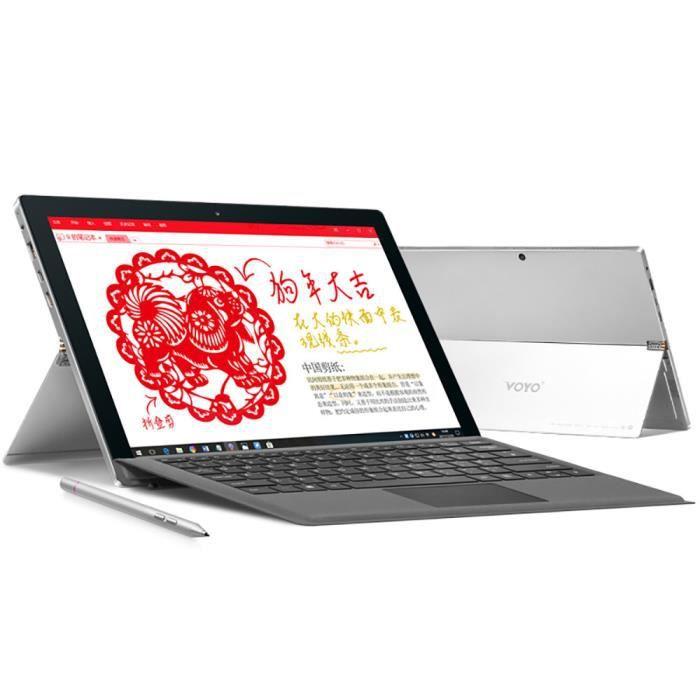 Plus 8 Go 2.7Ghz Core i7 + 256G de Windows 10 12.6.Inch 2880 x 1920 Résolution Tablet _de533