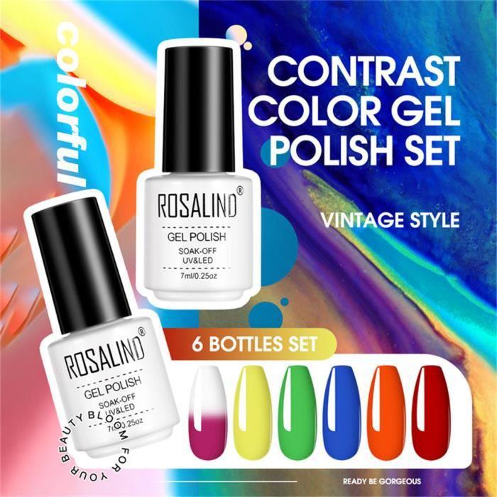 Set de colle pour vernis à ongles Summer Lavender Color Mini Glitter Glue 7ml B1067