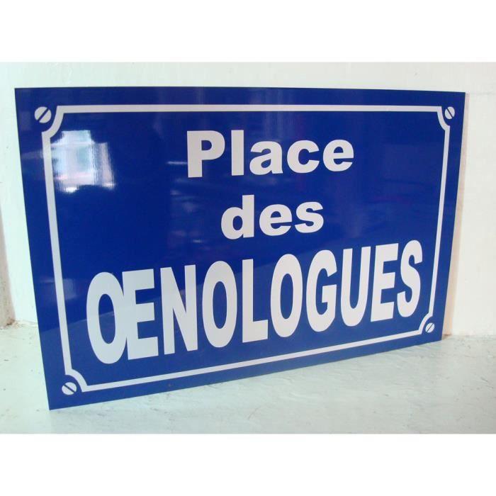 plaque VIN OENOLOGUE DECO ORIGINAL cadeau série limitée moins de 100 ex