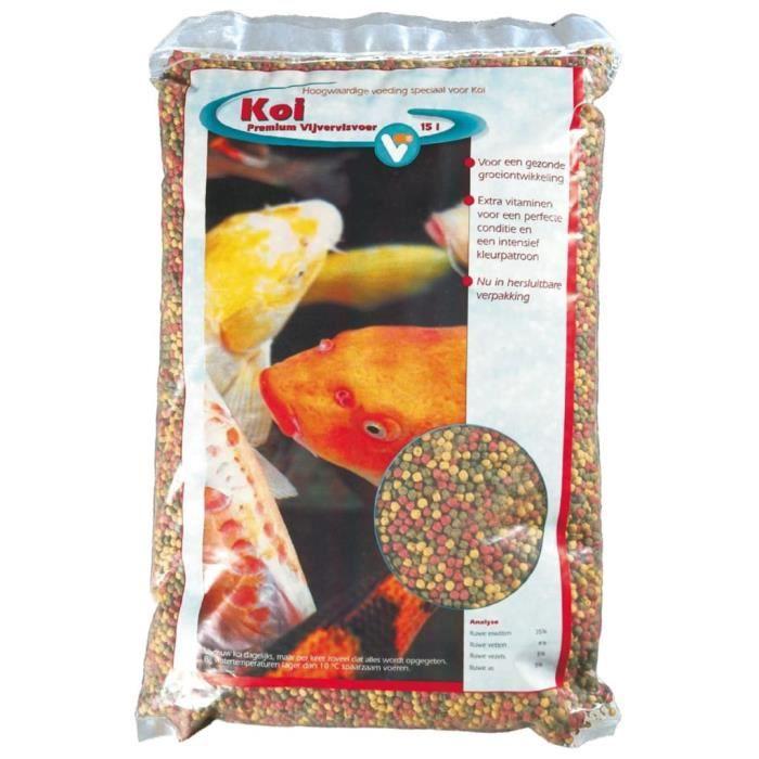 Velda VT Nourriture pour poissons Koi -Premium- 15Velda VT Nourriture pour poissons Koi -Premium- 15 L♫8793