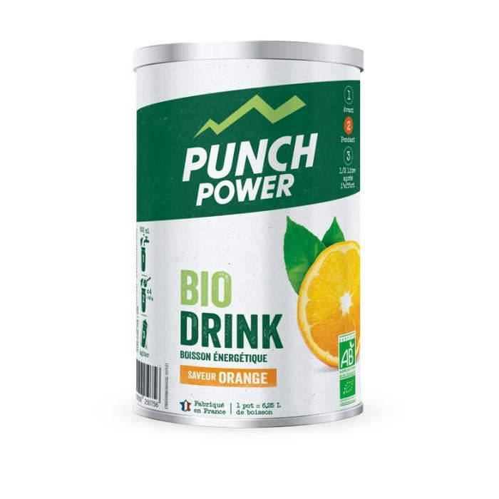 PUNCH POWER BIODRINK ORANGE - POT 500G