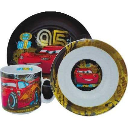 Set petit déjeuner Cars -world grand prix-