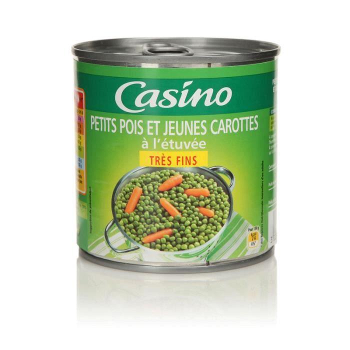 Petits pois et carottes - 265g