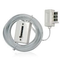 Rallonge téléphonique 5 mètres câble plat F/G b...