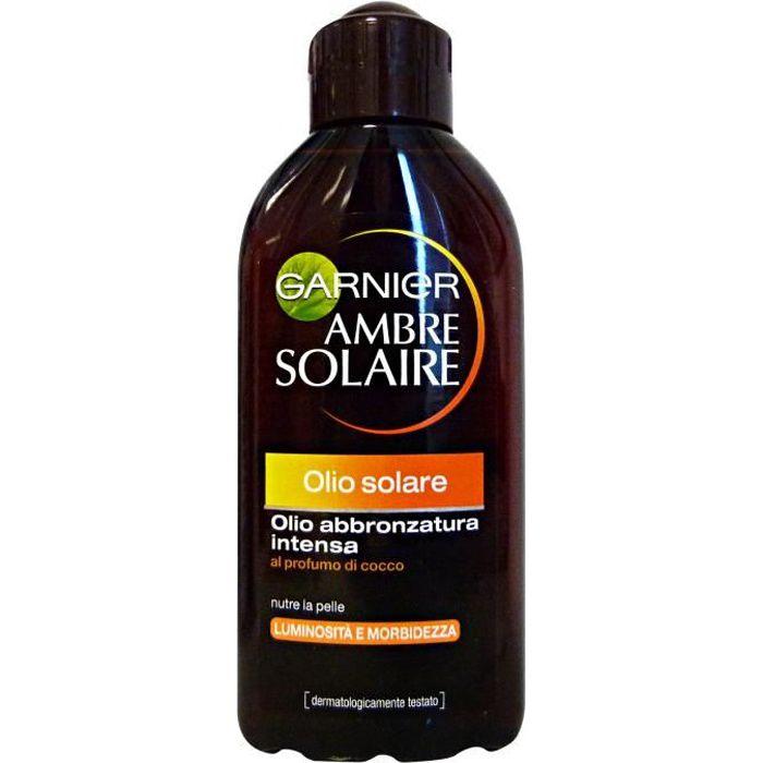 GARNIER Huile Ambre Solaire Solaire 200 Ml. - Produits solaires