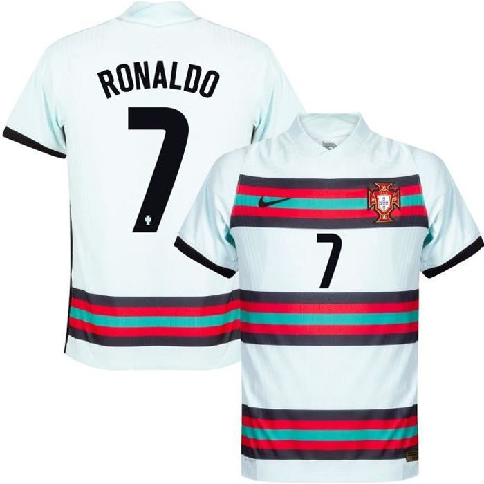 Maillot de Foot Portugal Cristiano Ronaldo 7 Exterieur Euro 20-21 Pas Cher Homme