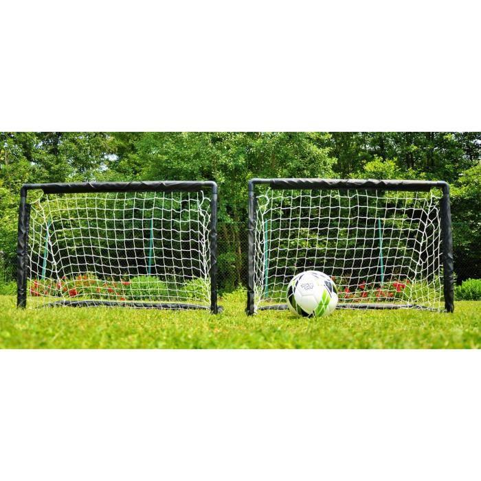 But de foot pour enfant – 0,9 x 0,6m – LA PAIRE / structures + filets