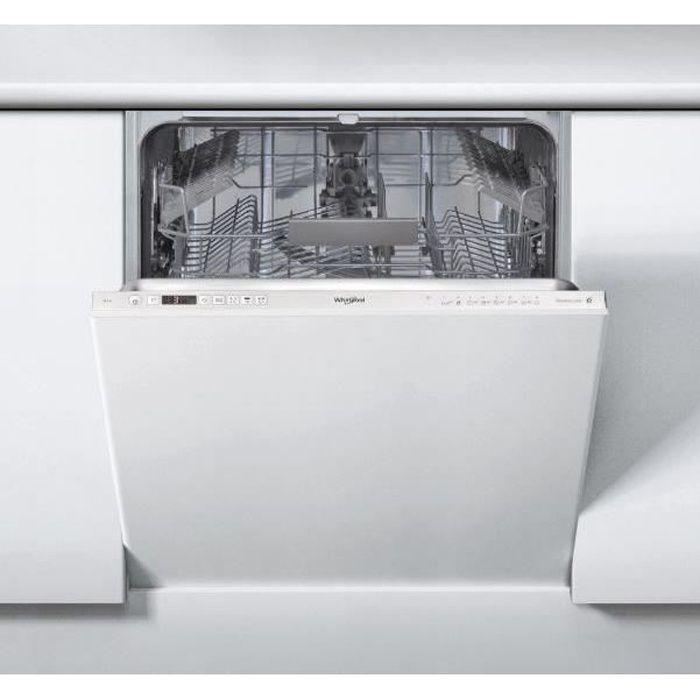 WHIRLPOOL Lave-vaisselle encastrable SUPREME CLEAN WRIC3C24PE - 14 couverts - Classe : A++