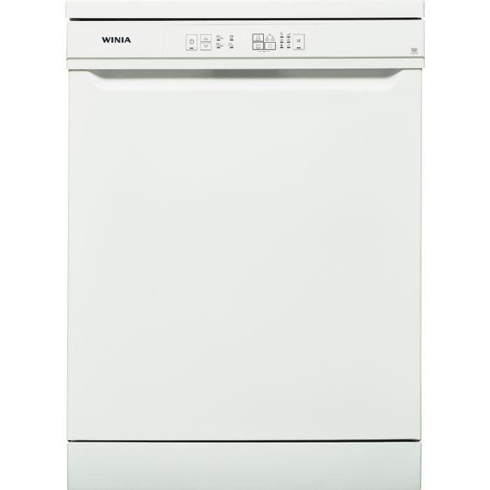 Lave-vaisselle pose-libre WINIA WVW-12A13WW - 12 couverts - Largeur 60cm - 49 dB - Blanc