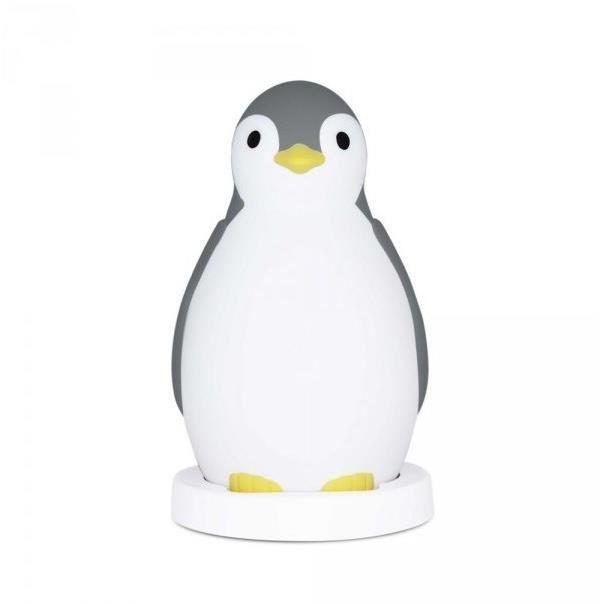 ZAZU Pam le pingouin- Accompagnateur de sommeil - Gris