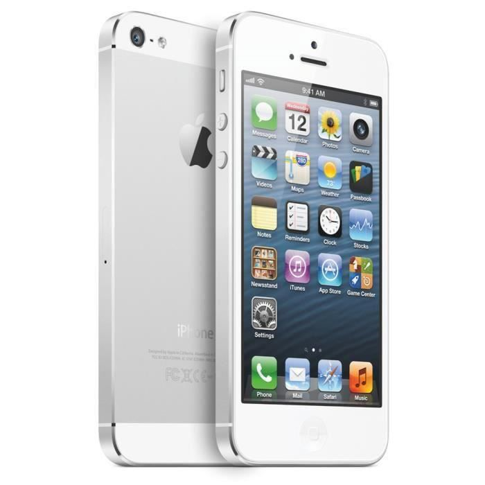 apple iphone 5s smartphone 64 gb d bloqu 4g reconditionne a neuf argent achat smartphone pas. Black Bedroom Furniture Sets. Home Design Ideas