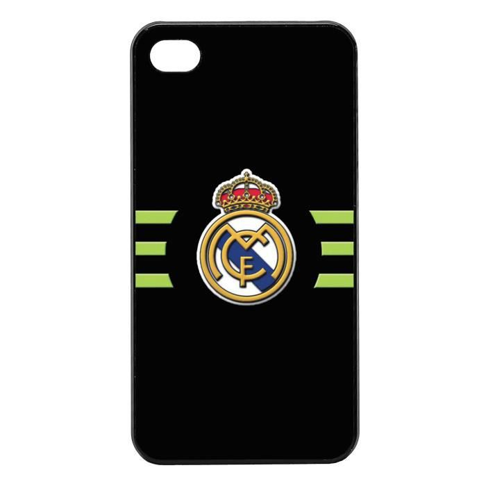 coque iphone 4s real madrid achat vente coque iphone 4s real madrid pas cher cdiscount. Black Bedroom Furniture Sets. Home Design Ideas
