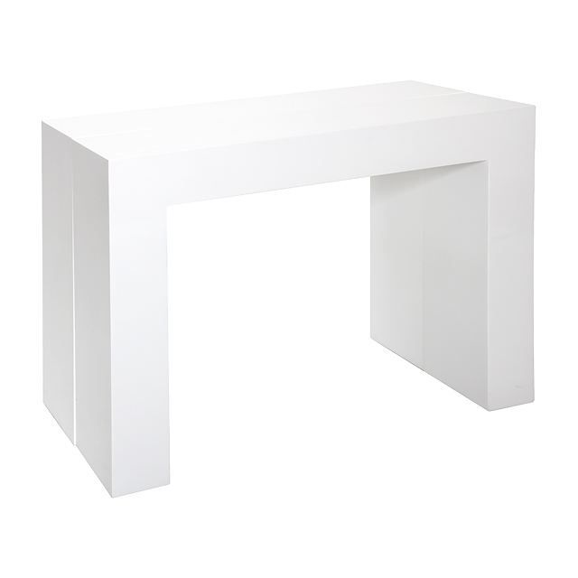 Table console avec rallonge - Console extensible rallonge integree ...