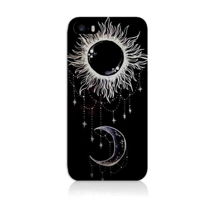 coque iphone 5 lune