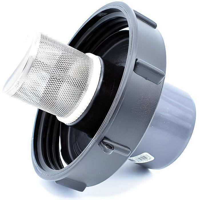 couvercle 15cm pour Cuve 1000L avec Entr/ée PVC 50//63