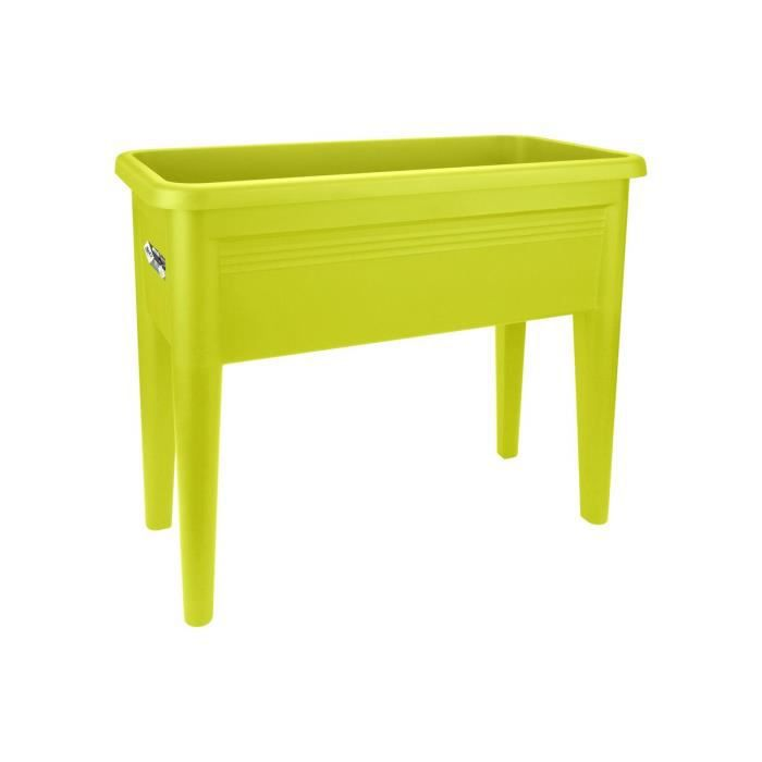 potager sur pieds greenbasics lime vert achat vente carr potager table potager sur pieds. Black Bedroom Furniture Sets. Home Design Ideas