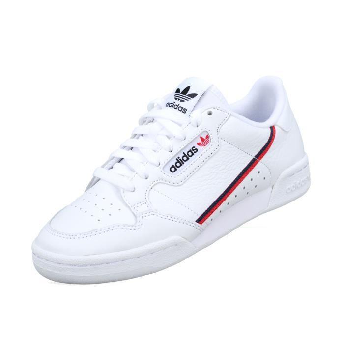 Basket Adidas Continental 80 B41674 Blanc Blanc - Achat ...