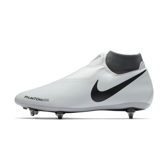 5c1142c541fc0 Chaussures football Nike Phantom Vision Academy DF SG Blanc-Rouge ...