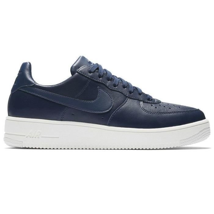 buy popular 0b684 43554 Nike Air Force 1 Ultraforce Lthr 845052-403 Bleu Chaussures Homme Sneaker  Baskets Pointure  EU 42 US 8.5