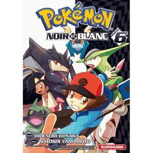 MANGA Pokémon noir et blanc Tome 6