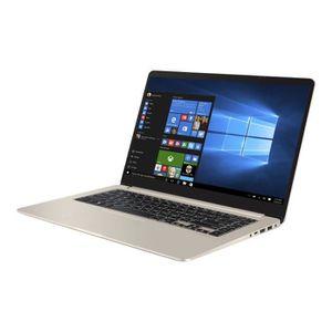 """Vente PC Portable ASUS VivoBook S15 S510UA BQ465TB Core i3 7100U Win 10 Familiale 64 bits SSD 15.6"""" 1366 x 768 (HD) HD Graphics 620 Bluetooth pas cher"""