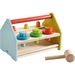 MARTEAU Boîte à outils en bois avec 11 accessoires Pièces