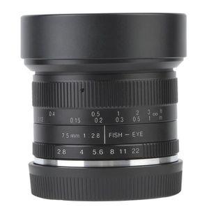 OBJECTIF ROMANTIC Objectif 7artisans 7.5mm F / 2.8 Fisheye